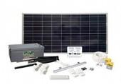 Solcellepanel, batterier og ladere Sunwind