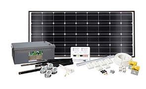 Solcelleanlegg  MAX POWER ORIGINAL 100W