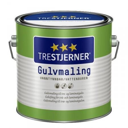 3 - Stjerners Gulvmaling 3 L Halvbalnk