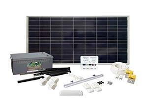 Solcelleanlegg  ENTRY 140 WATT LED